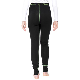 Woolpower Lite Long Johns Women black/light green